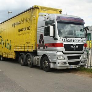 City Link lorry