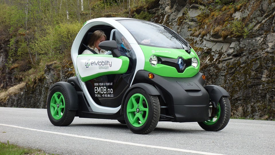 Electric car for Insurance Revolution